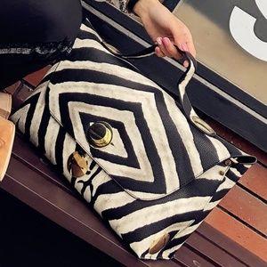 Brand New Zebra  Bag